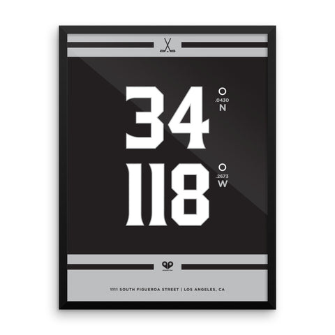 Los Angeles Kings <br>Framed Poster