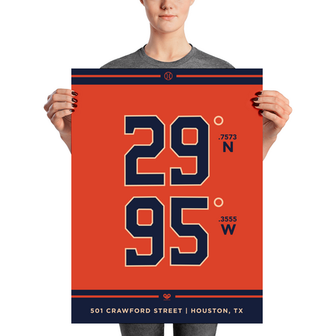 Houston Astros <br> Unframed Poster
