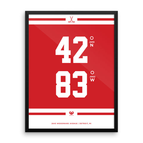Detroit Red Wings <br>Framed Poster