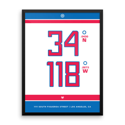 Los Angeles Clippers <br>Framed Poster