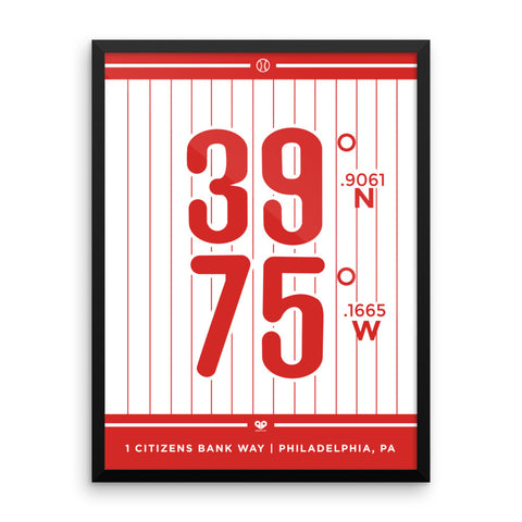 Philadelphia Phillies <br>Framed Poster