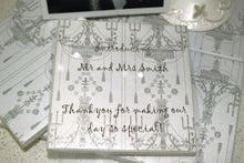 Custom Wedding Favour CERAMIC COASTERS