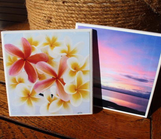 Custom Photo Coasters- Set of 4