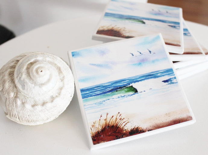Art by Rosemary (Coastal Escape) Set of 4