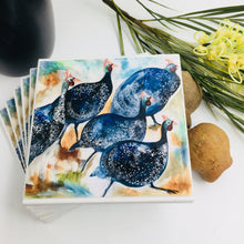 Art by Amanda Brooks (Guinea fowl race) - Set of 6