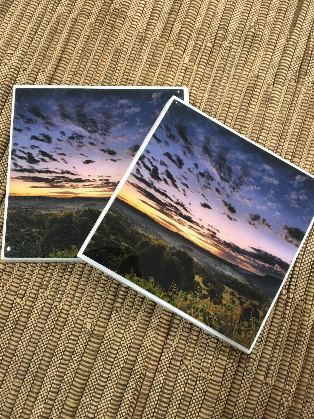 Photography by Rod Evans Visual (Sunset over Nimbin) -Set of 2