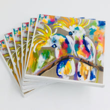 Art by Amanda Brooks (Rainbow cockatoo) - Set of 6