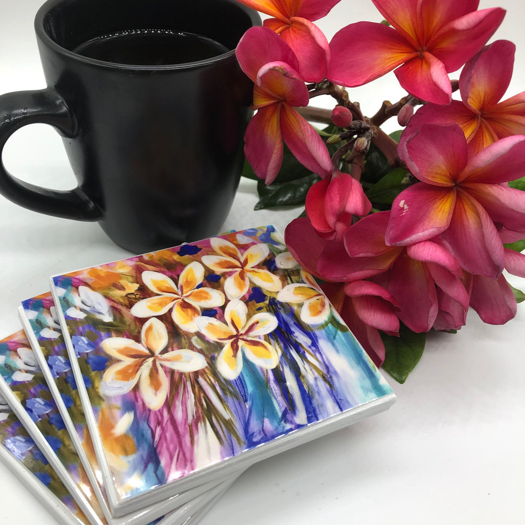 Art by Amanda Brooks (Frangipani Love) - Set of 4