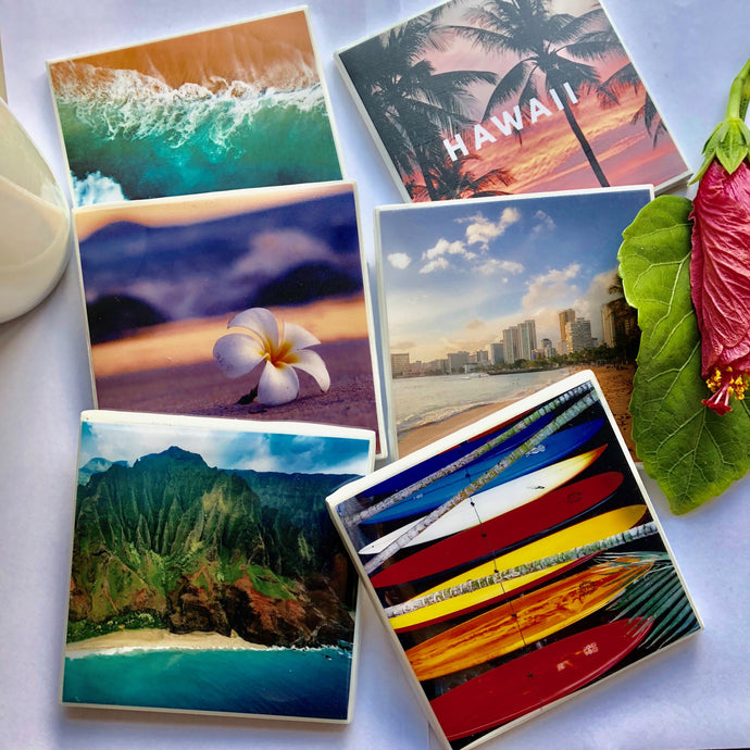 Custom Photo Coasters  - Set of 6