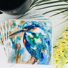 Art by Amanda Brooks (Vibrant kingfisher) - Set of 4