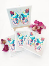 Art by Nardia Grant (Butterfly happiness) set of 4