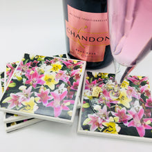 Photography by Rosemary (Lily Mixed Coasters)- Set of 4