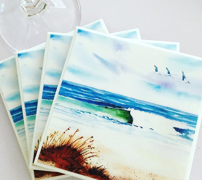 Art by Rosemary (Coastal Escape) Set of 6
