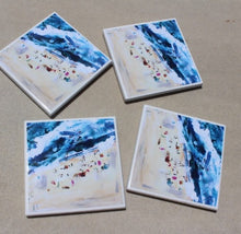 Art by Neeska Peta Waters (Beach Scene) - Set of 6