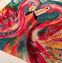 Flamingo Passion  - Art print