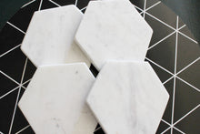 Custom White Marble Inspirational Coasters