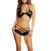 Lace Bralette Set Women Lingerie Black Lace
