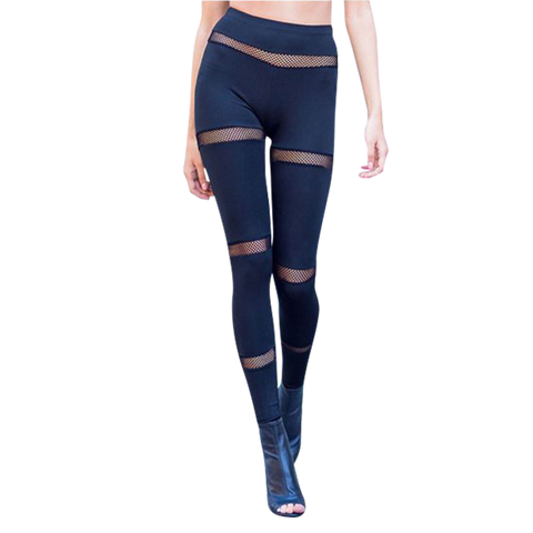 Athleisure sexy black leggings