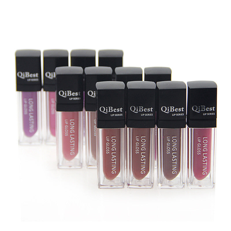 12 Colors Lip Gloss Velvet  Not Fade Lip Gloss