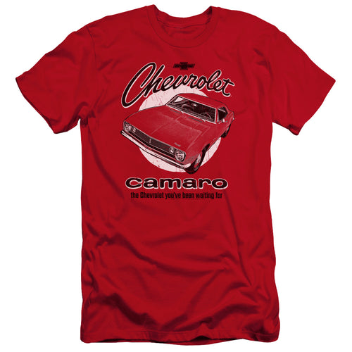 Chevrolet - Retro Camaro Premium Canvas Adult Slim Fit