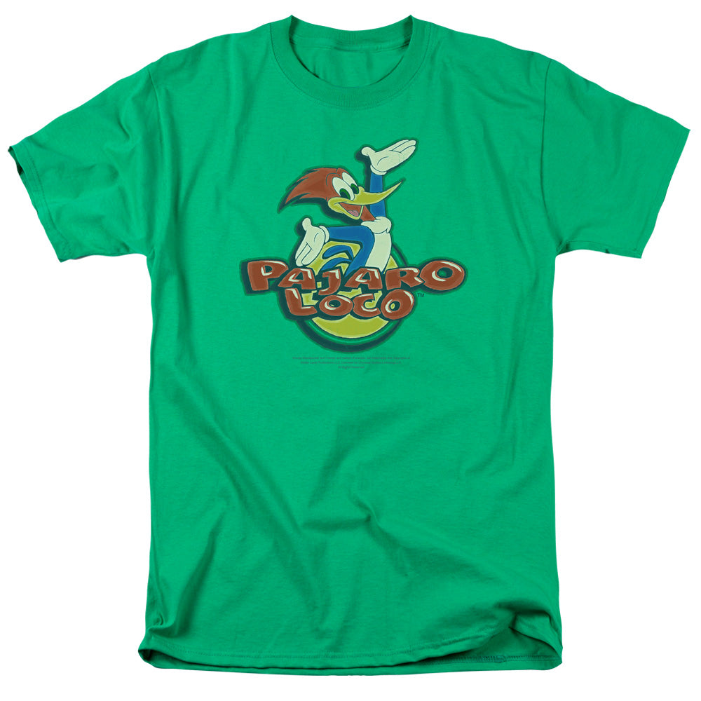 Woody Woodpecker - Pajaro Loco Short Sleeve Adult