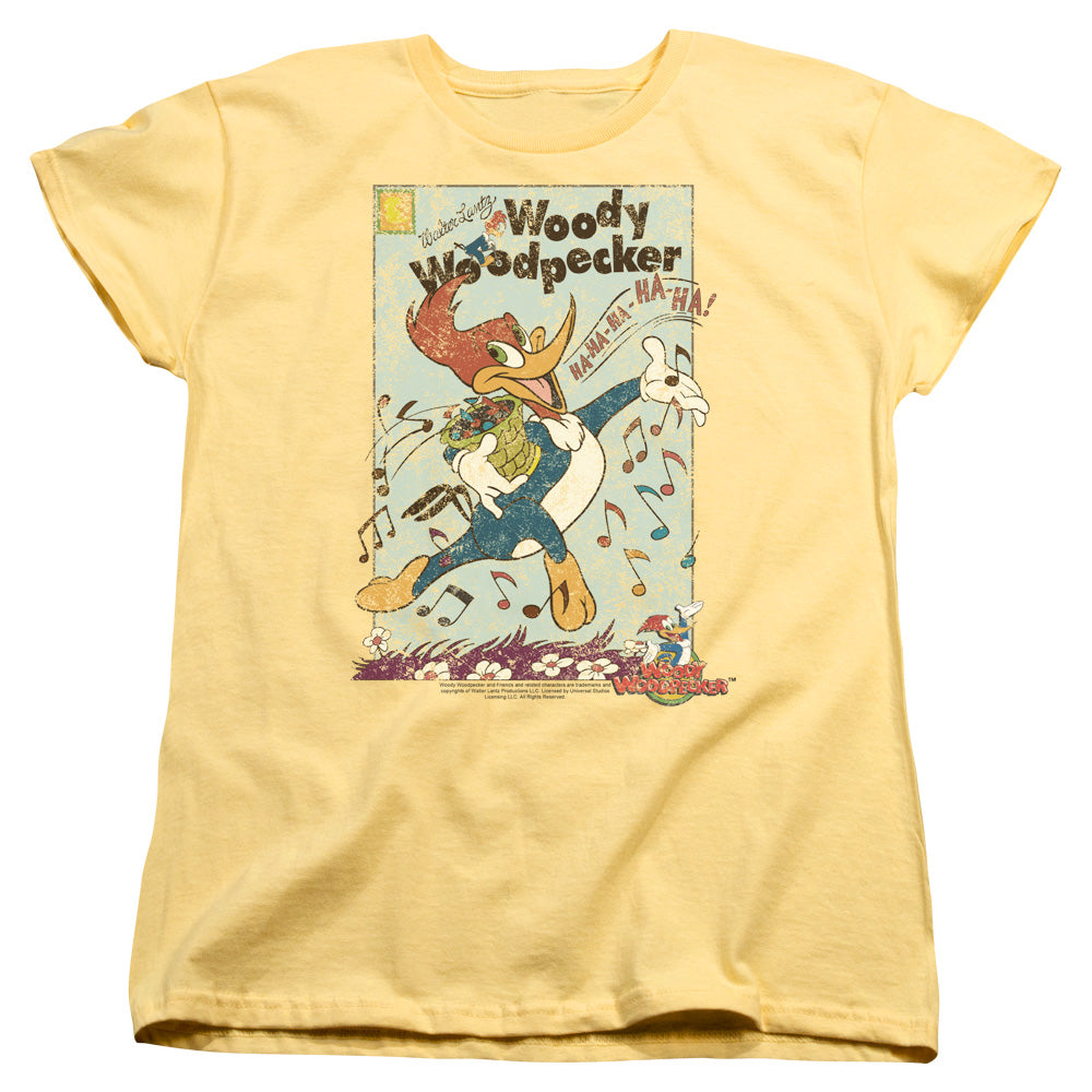 Woody Woodpecker - Vintage Woody Short Sleeve Women's Tee