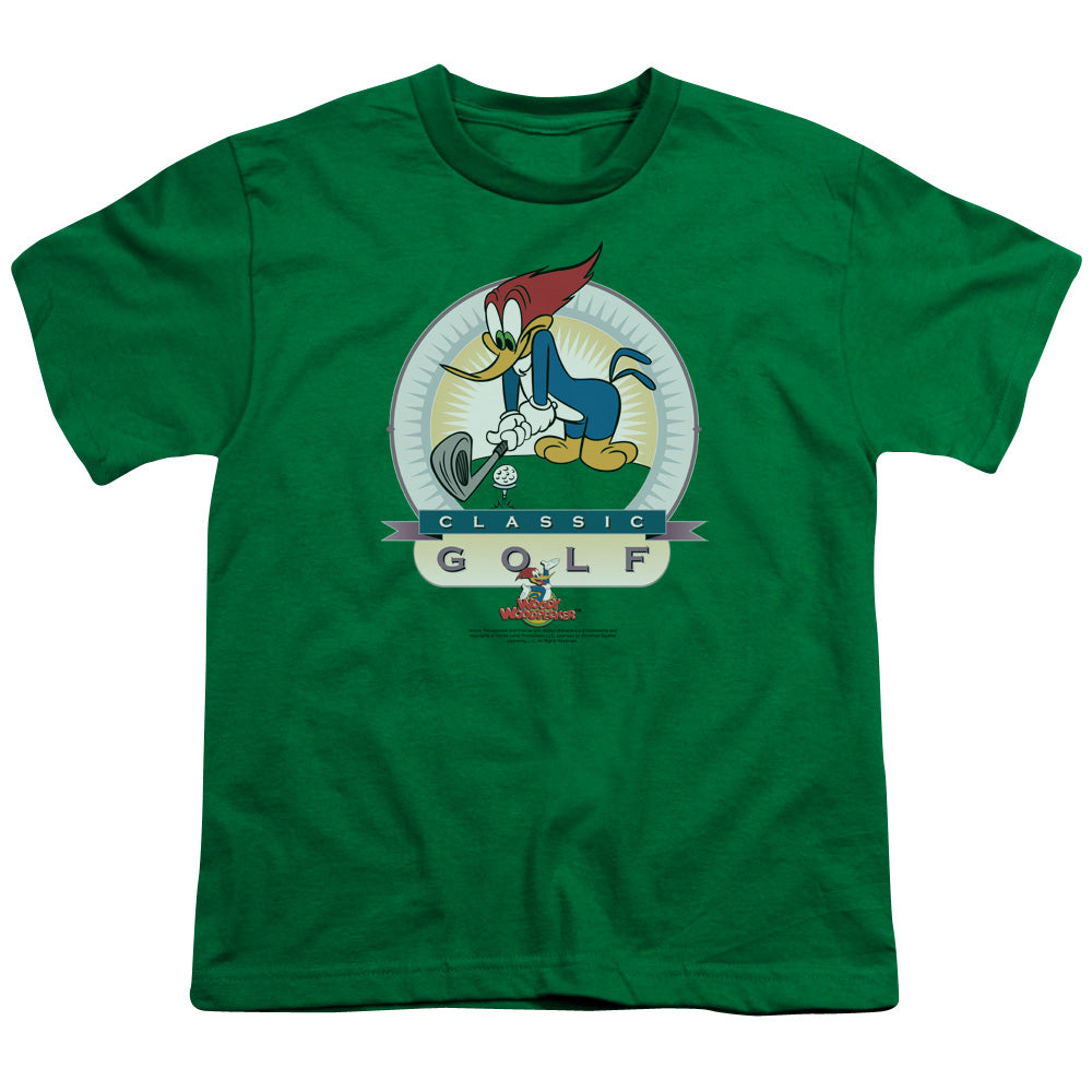 Woody Woodpecker - Classic Golf Short Sleeve Youth