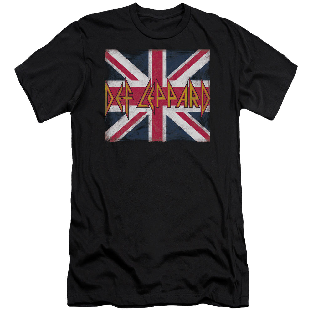 Def Leppard - Union Jack Short Sleeve Adult
