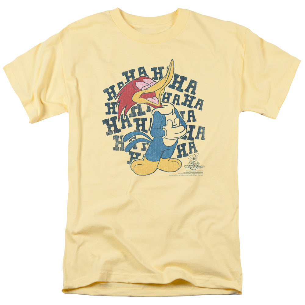 Woody Woodpecker - Laugh It Up Short Sleeve Adult 18/1