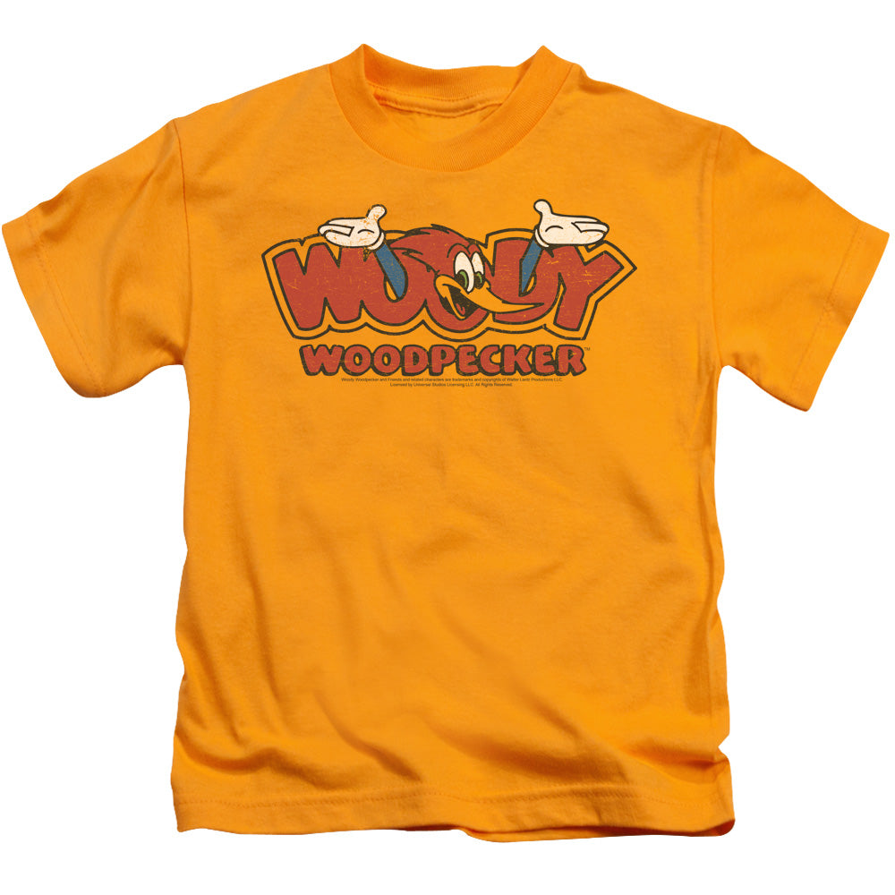 Woody Woodpecker - In Logo Short Sleeve Juvenile 18/1