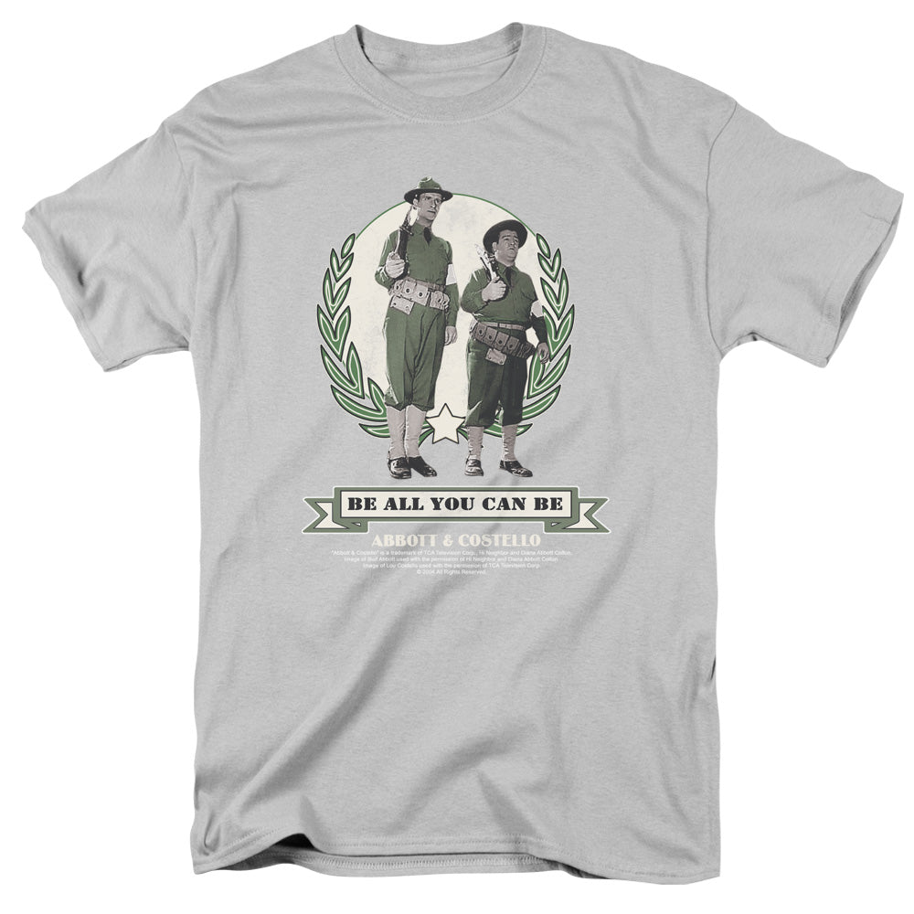Abbott & Costello - Be All You Can Be Short Sleeve Adult 18/1