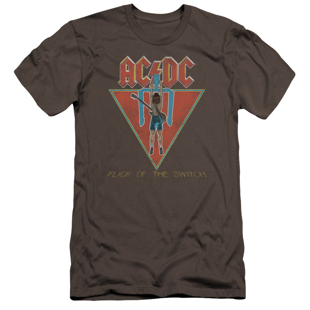 AC/DC - Flick Of The Switch Premium Canvas Adult Slim Fit 30/1