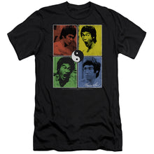 Bruce Lee - Enter Color Block Short Sleeve Adult 30/1