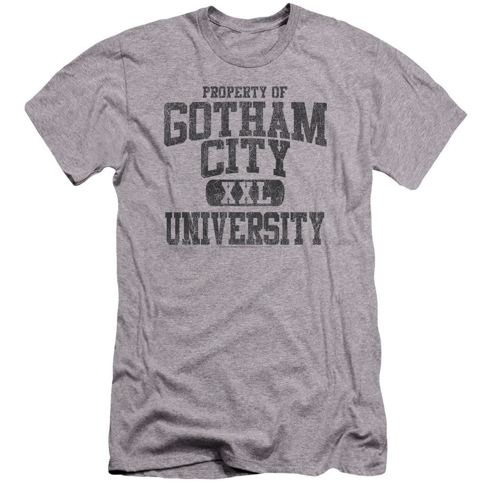 Batman - Property Of Gcu Premium Canvas Adult Slim Fit
