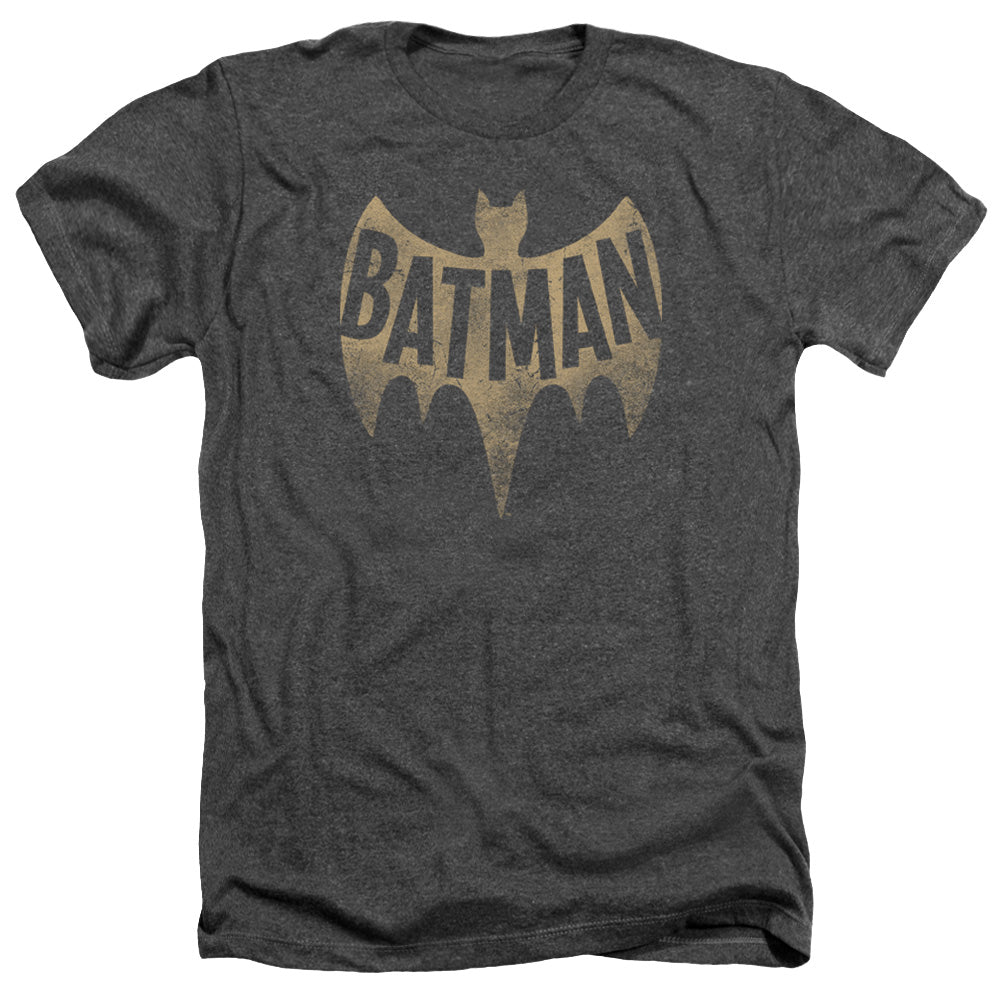 Batman Classic Tv - Vintage Logo Adult Heather