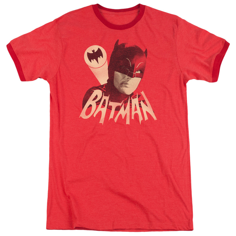 Batman Classic Tv - Bat Signal Adult Heather