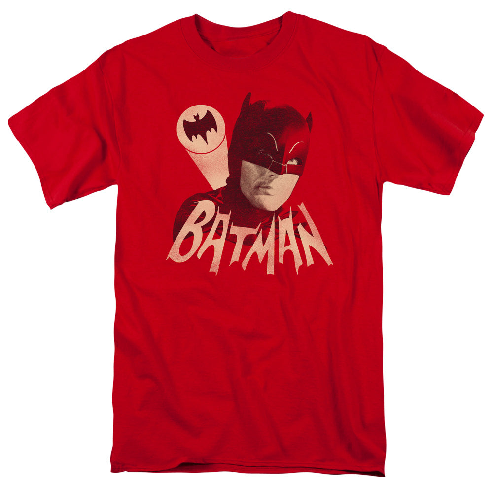 Batman Classic Tv - Bat Signal Short Sleeve Adult