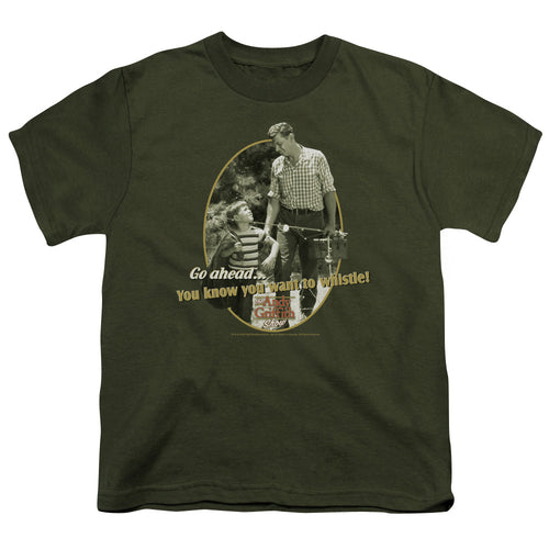 Andy Griffith - Gone Fishing Short Sleeve Youth 18/1