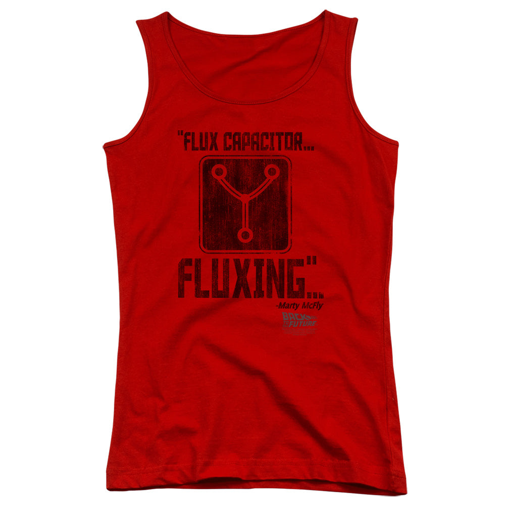 Back To The Future - Fluxing Juniors Tank Top