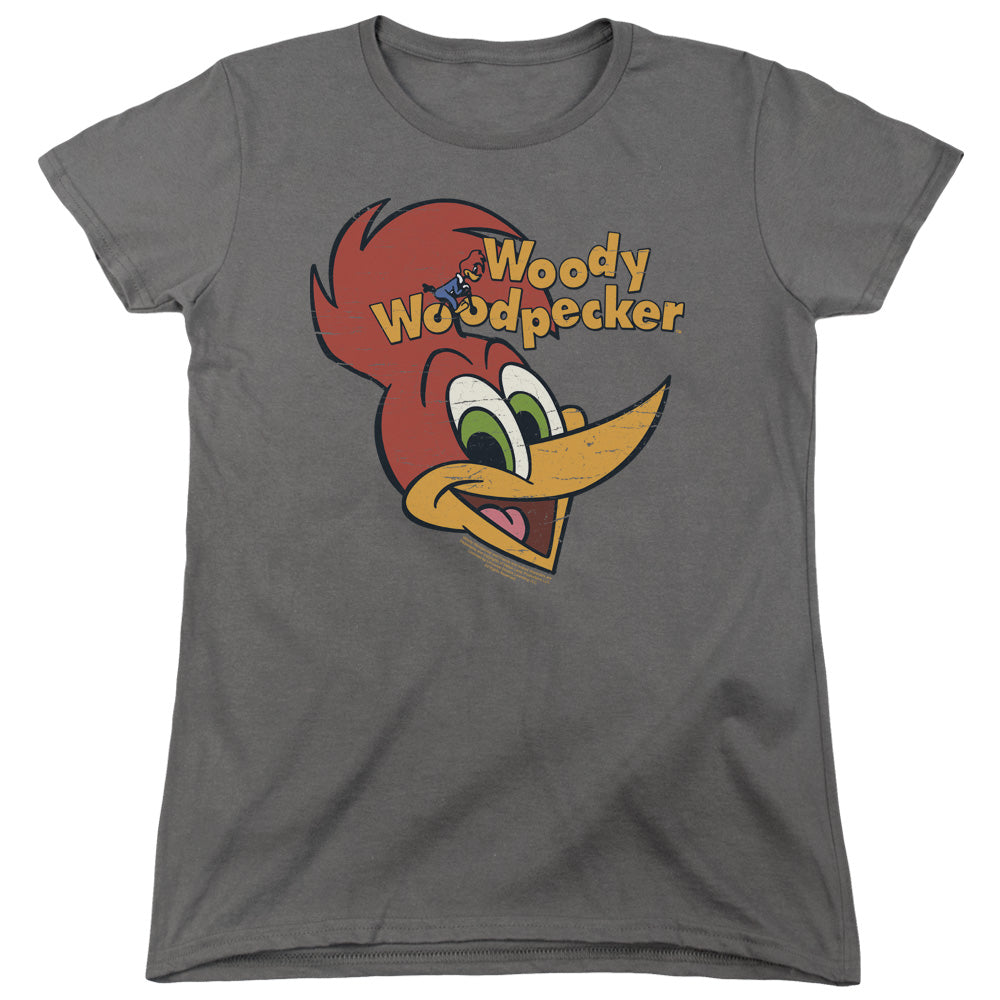 Woody Woodpecker - Retro Logo Short Sleeve Women's Tee