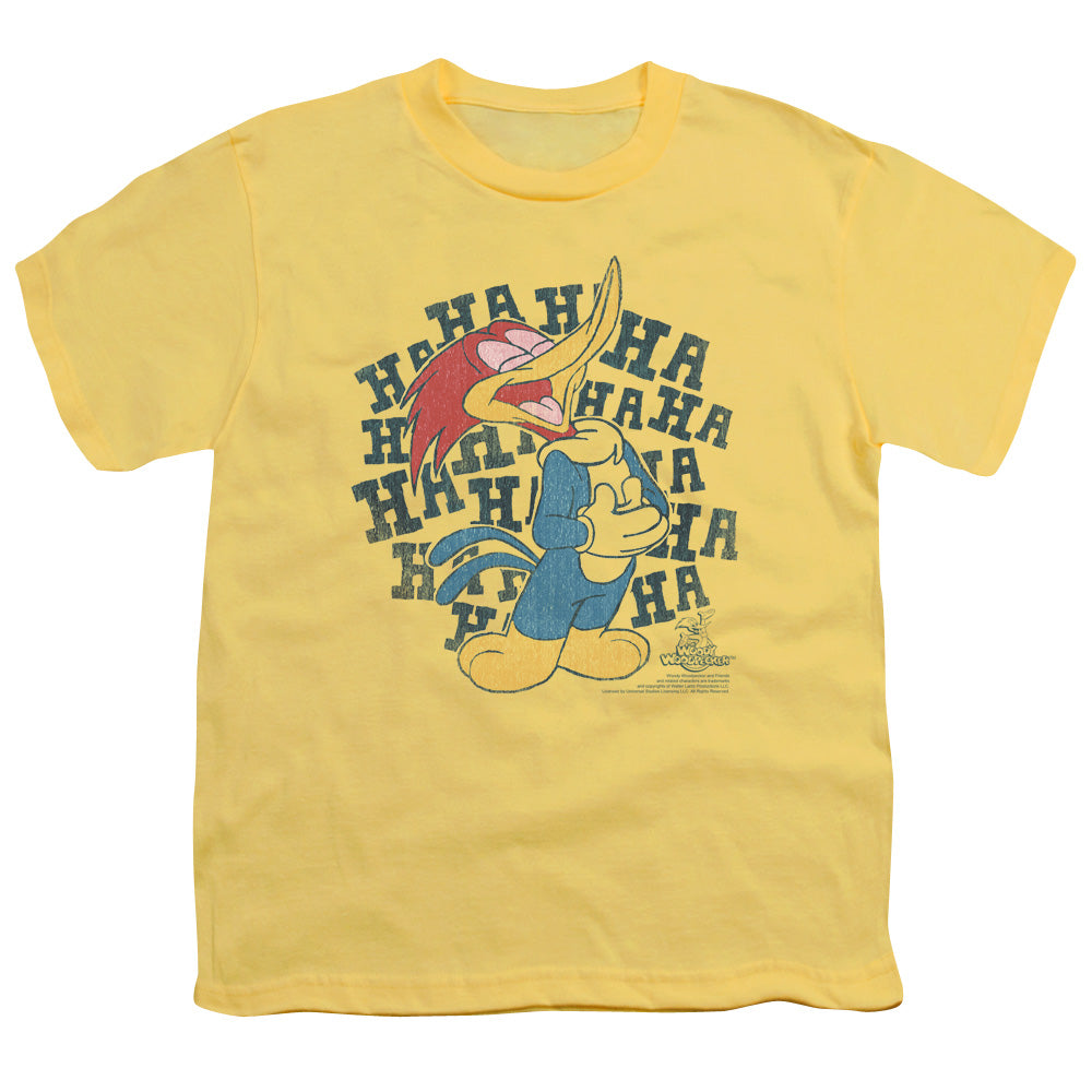 Woody Woodpecker - Laugh It Up Short Sleeve Youth 18/1