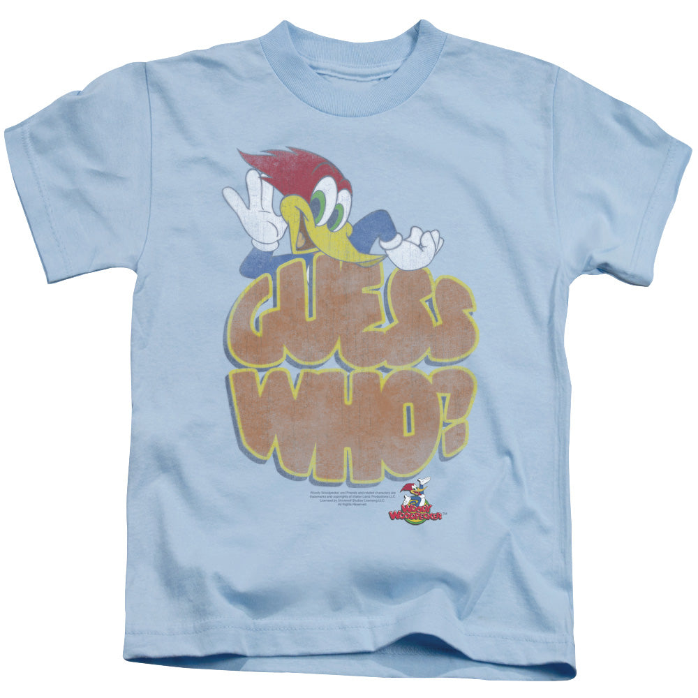Woody Woodpecker - Guess Who Short Sleeve Juvenile 18/1