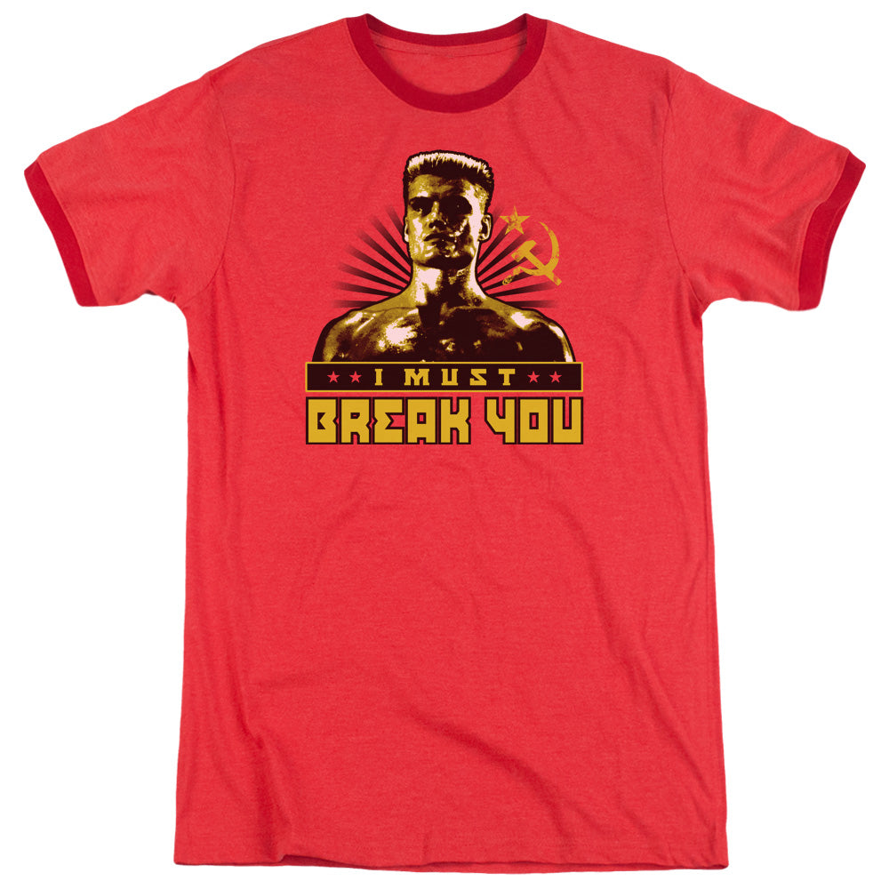 Rocky Iv - I Must Break You Adult Heather