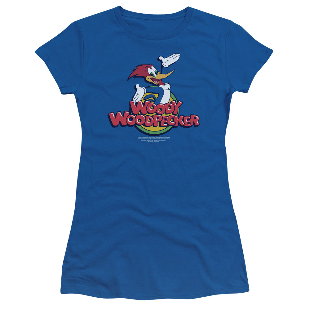 Woody Woodpecker - Woody Short Sleeve Junior Sheer