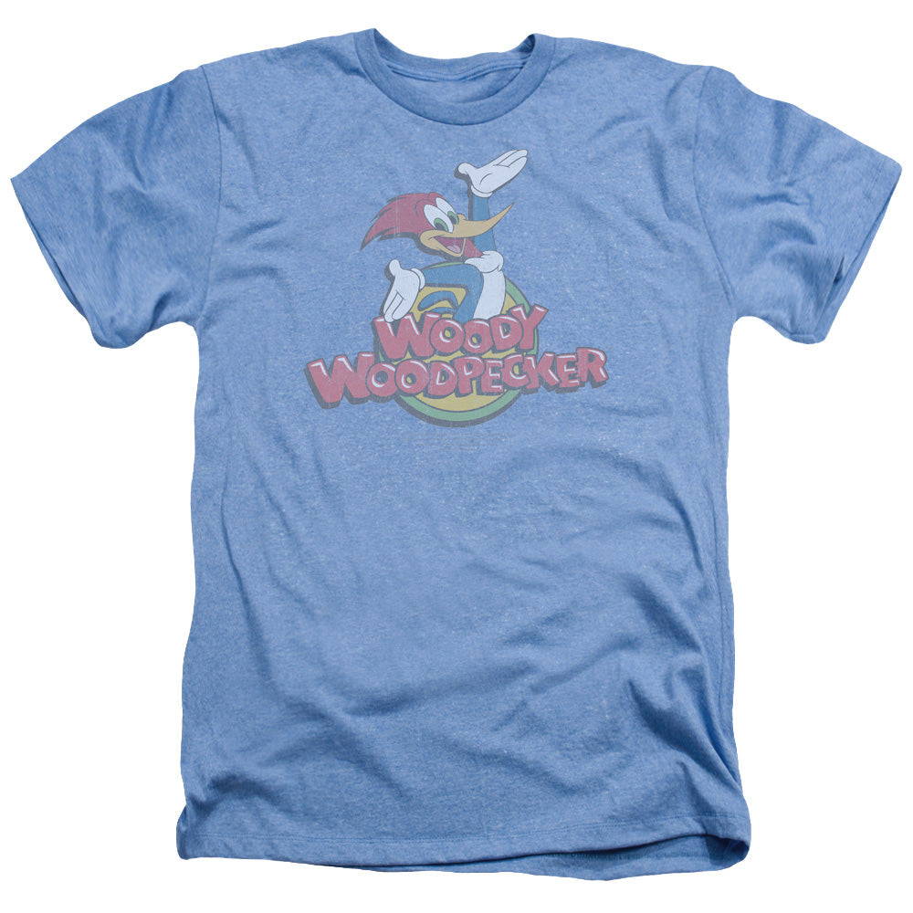 Woody Woodpecker - Retro Fade Adult Heather
