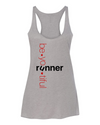 BeYOUtiful Runner - Triblend Racerback Tank - OnYourMarQ Running Co.