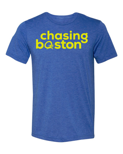Chasing Boston®️ Unisex Triblend Tee - OnYourMarQ Running Co.