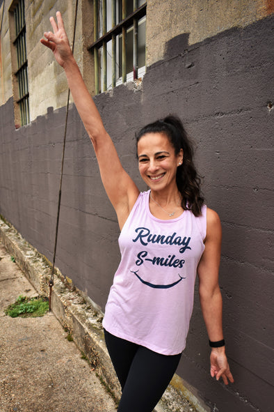 Runday Smiles tank