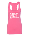 Harder, Better, Faster, Stronger - Racerback Tank