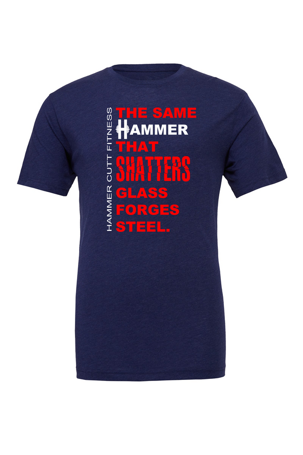 Hammer Shatters Glass Unisex Tee - OnYourMarQ Running Co.